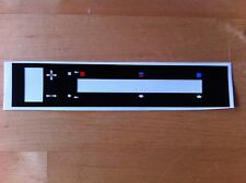 Ford Escort MK2 RS2000/ Mexico heater control decal