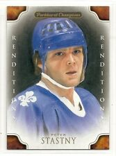 2011-12 Parkhurst Champions - #147 - Peter Stastny - Quebec Nordiques