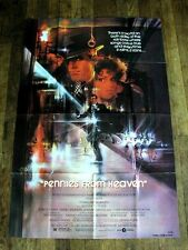 PENNIES FROM HEAVEN Original Movie Poster STEVE MARTIN CHRISTOPHER WALKEN