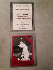 Roger Clemens Business Card from Shop in mid 1980's
