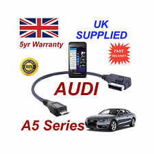 AUDI A5 Series 4F0051510M Cable For BLACKBERRY Z10 MICRO USB Audio connection