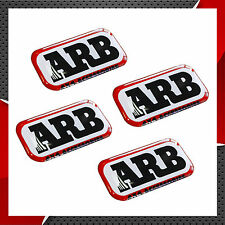 4 DOMED STICKERS ARB AUTO MOTOCROSS CAR BIKE ACCESSORIES 4 x 4 OFF ROAD RALLY