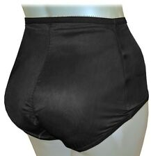 "BLACK MESH BUTT BOOSTER PADDED PANTY GIRDLE L LARGE L/XL XL to42"" BOOTY ENHANCER"