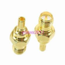 1pce Adapter Connector CRC9 male to RP-SMA female for Huawei 3G Modem Antenna