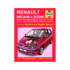 Renault Megane Scenic 1.4 1.6 2.0 Pet 1.9 Dsl 99-02 (T to 52 Reg) Haynes Manual