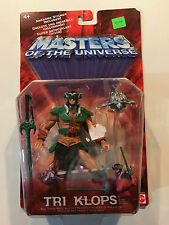 Masters of the Universe Tri-Klops figure 2002 Mattel Brand New sealed