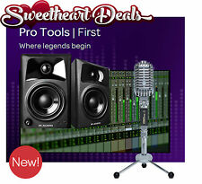 NEW Pro Tools First Home recording studio bundle package Marantz M Audio Podcast