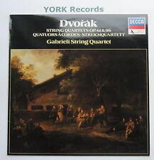 SDD 565 - DVORAK - String Quartets GABRIELI STRING QUARTET - Ex Con LP Record