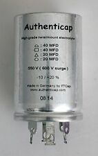 40/40/20/20 uf 550V/600 ELECTROLYTIC CAPACITOR DYNACO MKIII MARK III upgrade