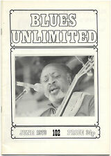 BLUES UNLIMITED No 102 June 1973 Larry Davis Ruth Brown David Wylie