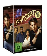 The Complete 21 Jump Street TV Series DVD 28 Disc Set Box Set Collection NEW