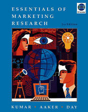 Essentials of Marketing Research by George S. Day, V. Kumar, David A. Aaker...