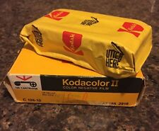 Vintage Kodak C126-12 Kodacolor II Film  New In Box Exp. 4-1976