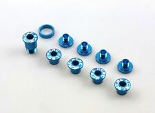 gobike88 KCNC Crank Bolts for CAMPAGNOLO, Al 7075, Blue, 636