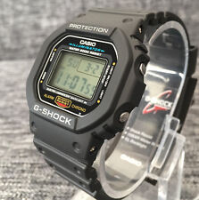 CASIO G SHOCK DW-5600E-1VER BLACK DIGITAL STOPWATCH TIMER 200M WR BRAND NEW