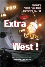 Extra West! Nickel Plate Road Berkshire 765 DVD NEW NKPOhio Steam Lima