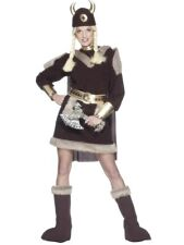 Viking Lady Costume Deluxe - Nordic Lady - Ladies Fancy Dress