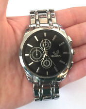 Orlando Quartz Men's Watch St Steel Runs New Battery