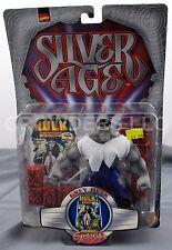 "Marvel Comics Silver Age GREY HULK 5"" Action Figure Previews Exclusive '99 NIP"