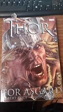 MARVEL-THOR FOR ASGARD -HARD COVER-FREE SHIPPING