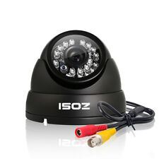 "ZOSI 1/3"" 1000TVL 960H 24 IR Led Security Surveillance CCTV Camera Had IR Cut"
