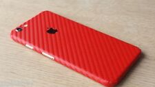 3D Textured Carbon Skin Cover Sticker Decal Vinyl Wrap For ALL Apple iPhone