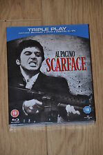 Scarface Triple Play Blu-ray + DVD + Digital Copy NEW SEALED FREEPOST Al Pacino