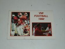 1992 VMI COLLEGE FOOTBALL MEDIA GUIDE  EX BOX 27