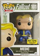 """Funko Pop Hot Topic Fallout Medic Blind Box 3.75"""" Vinyl Figure Collectible"""