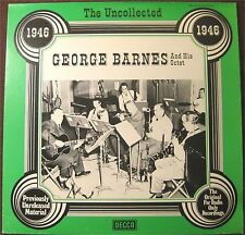 George barnes and his Octet, The Uncollected, VG/VG+  LP (8135)