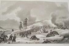 NAPOLEON  COMBAT KRASNOE RUSSIE GRAVURE 1838 VERSAILLES R1244 IN FOLIO