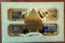 Lledo Models of Famous Stores of London Collection Set of 4 vehicles boxed NEW