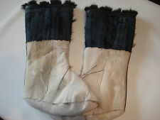 High Beaver Fur Boots for Women Russian Style (Made in Latvia) Socks Mukluk