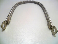 "6"" Earth Strap, Battery Lead, Cable, Flexible Tinned Copper Braided Connector"
