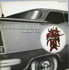 """LES CHAUSSETTES NOIRES - DOUBLE LP """"VOLUMES 3 & 4"""" - EDDY MITCHELL"""
