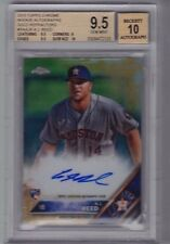 2016 Topps Chrome A.J. Reed Gold Refractor Auto Rc (01/50) BGS 9.5/10 - POP 2