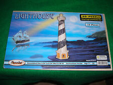 Wood Craft Construction Kit. Lighthouse Wooden 3D Puzzle Construction Kit. New!