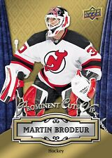 2016 National Convention Prominent Cuts MARTIN BRODEUR Devils VIP PROMO