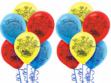 12ct DC Super Heroe Girl Latex Balloons Birthday Decoration Party Favor Supplies