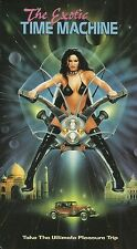 THE EXOTIC TIME MACHINE (VHS) OOP RARE Unrated Erotic Scifi Fantasy!