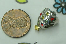 NEW Brighton christmas tree crystals holiday winter bead spacer charm