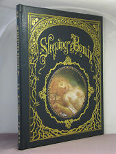 w card signed by artist,Sleeping Beauty illustrated by Kinuko Craft,Easton Press