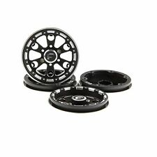 "GDS Racing Four 1.9"" Black Alloy Beadlock Wheel Rim Wide 1"" for RC Model #094BK"