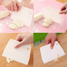 Sugarcraft Scraper Cake Decorating Fondant Icing Smoother Mould Mold Tool White