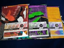 Ichibankuji Evangelion design Long towel 3 pieces set Japanese anime goods