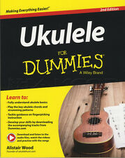 Ukulele For Dummies Etiqueta música Libro Con Audio Y Video Download Alistair Madera