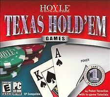 Hoyle Texas Hold'Em (PC, 2005) BRAND NEW