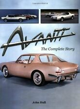 Studebaker Avanti Book The Complete Story by John Hull - Raymond Loewy - parts