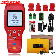 OBDSTAR X-100 PRO (C+D+E) Auto Programmer Immobilizer + Odometer +EEPROM Scanner