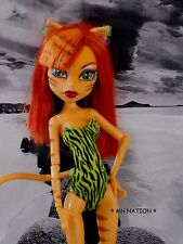 Monster High Clawdeen Wolf's SKULL SHORES Swimsuit and Accessories